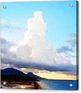 Over The Beach Acrylic Print