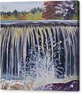 Over The Dam Acrylic Print