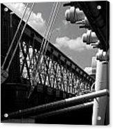 Over The Thames Acrylic Print
