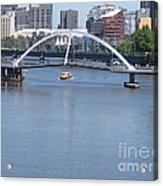 Over The Yarra Acrylic Print