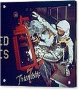 Overall View Of Astronaut John Glenn Acrylic Print by Everett