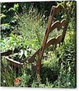 Overgrown Chair Acrylic Print