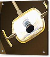 Overhead Dentist Lamp Acrylic Print by Jetta Productions, Inc