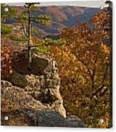 Overlook At Cecil Hollow Acrylic Print