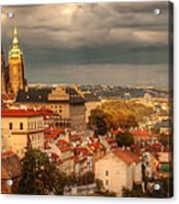 Overlook Prague Acrylic Print