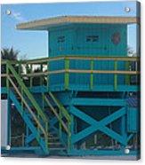 Overlook The Beach Acrylic Print