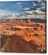Overlooking Dead Horse Point Acrylic Print