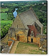 Overlooking The French Countryside Acrylic Print