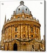 Oxford University Acrylic Print