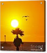 Oxnard At Sunset Acrylic Print