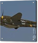 P-38 Cruising Acrylic Print