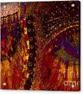 P Man 32 Acrylic Print