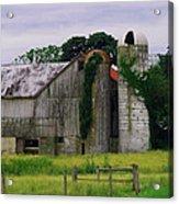 Pa Barn Acrylic Print by Dottie Gillespie