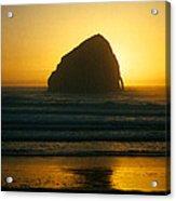 Pacific City Sunset Acrylic Print