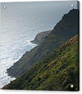Pacific Coast Shoreline Iv Acrylic Print by Steven Ainsworth