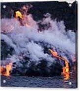Pacific Lava Flow II Acrylic Print
