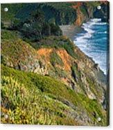 Pacific Shoreline Vii Acrylic Print