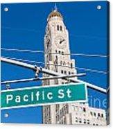 Pacific Street I Acrylic Print