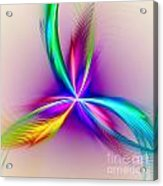Pacock-feathers Acrylic Print