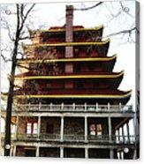 Pagoda Reading Pa. Acrylic Print