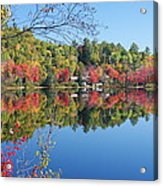 Paint Lake  Muskoka Canada Acrylic Print