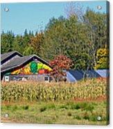 Painted Barn Acrylic Print