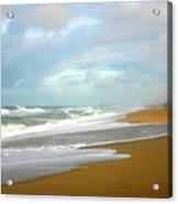 Painted Beach Acrylic Print