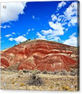 Painted Hills In Eastern Oregon Acrylic Print