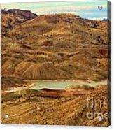 Painted Hills Lake Acrylic Print