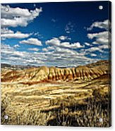 Painted Hills Oregon Acrylic Print