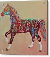 Painted Horse A Acrylic Print