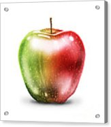 Painting Of Apple Acrylic Print