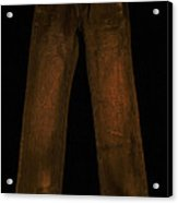 Pair Of Jeans 3 - Painterly Acrylic Print