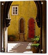 Palace Arch Acrylic Print