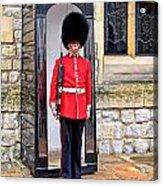 Palace Guard Acrylic Print