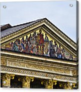 Palace Of Art - Heros Square - Budapest Acrylic Print