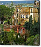 Palace Of The Arabian King - Ronda Acrylic Print