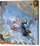Palace Of Versailles Ceiling Art Acrylic Print