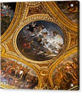 Palace Of Versailles Ceiling Acrylic Print