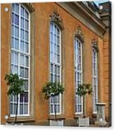 Palace Windows And Topiaries Acrylic Print