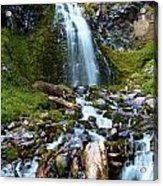 Palaikni Falls Valley Acrylic Print