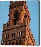 Palazzo Vecchio In Florence  Acrylic Print