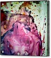 Palette Mixes Acrylic Print