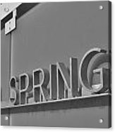 Palm Springs 2 Acrylic Print