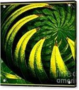 Palm Tree Abstract Acrylic Print