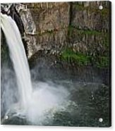 Palouse Falls In Spring Acrylic Print