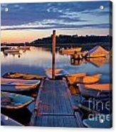 Pamet Harbor Acrylic Print