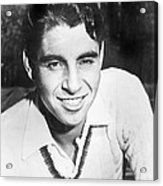 Pancho Gonzales, Tennis Player Acrylic Print by Everett