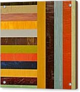 Panel Abstract - Digital Compilation Acrylic Print