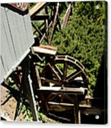 Panning For Gold In Virginia City Nevada Acrylic Print
